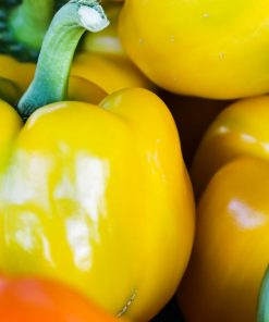 Yellow Capsicum Vegetable