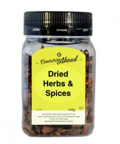 Dried Herbs & Spices 60gm Jar
